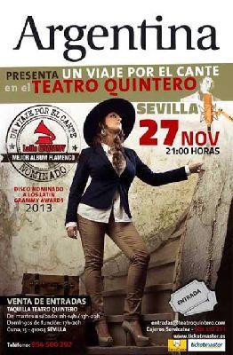Flamenco: Argentina en el Teatro Quintero de Sevilla