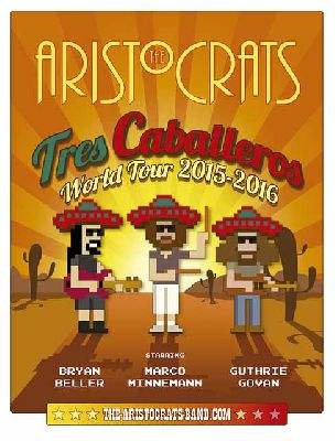 Concierto: The Aristocrats en Custom Sevilla 2016