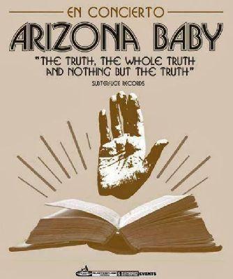 Concierto: Arizona Baby en la Sala Fanatic de Sevilla