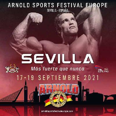 Cartel del Arnold Sport Festival 2021