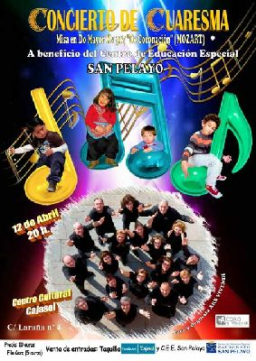 Concierto benéfico de Ars Vivendi en sala Joaquín Turina Sevilla