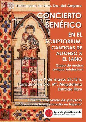 Concierto benéfico de Artefactum en la iglesia de la Magdalena de Sevilla