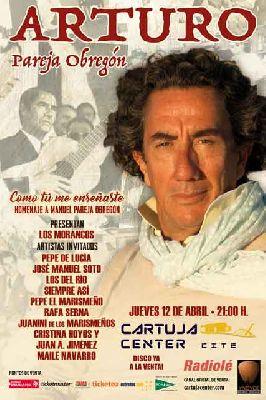 Concierto: Arturo Pareja Obregón en el Cartuja Center de Sevilla 2018