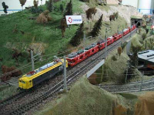Exposición: trenes en miniatura en Santa Justa Navidad 2012-2013
