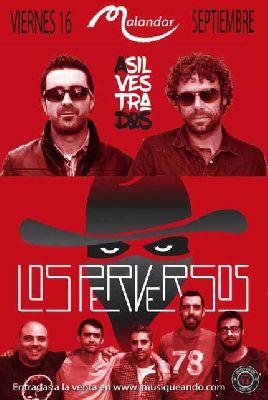 Concierto: Asilvestrados + Los Perversos en Malandar Sevilla