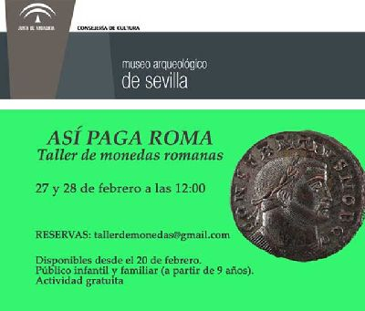 Actividad familiar: Así paga Roma en el Arqueológico de Sevilla