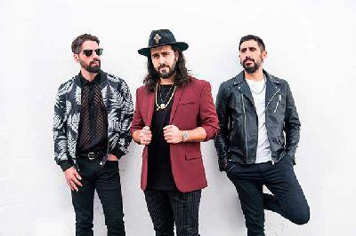 Foto promocional del grupo Aslándticos