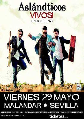 Concierto: Los Aslándticos, acústico en Malandar Sevilla
