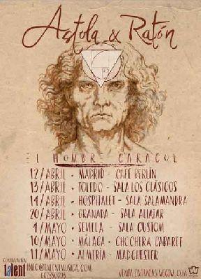 Concierto: Astola y Ratón en Custom Sevilla 2018