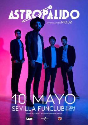 Concierto: Astropálido y Mojo en FunClub Sevilla 2018