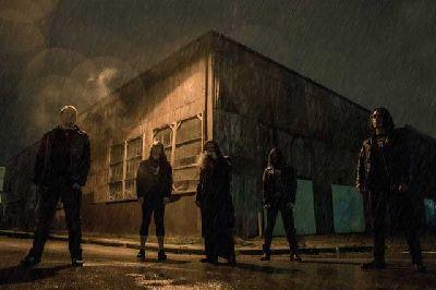 Foto promocional del grupo Auroch