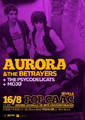 Concierto: Aurora & The Betrayers en Pop CAAC Sevilla 2018