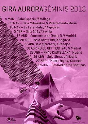 Concierto: Aurora en la Sala 101 de Sevilla