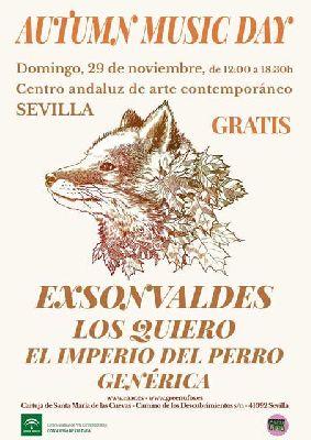 Conciertos: Autumn Music Day 2015 en el CAAC Sevilla