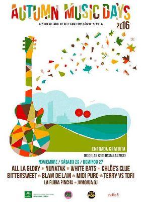 Conciertos: Autumn Music Day 2016 en el CAAC Sevilla