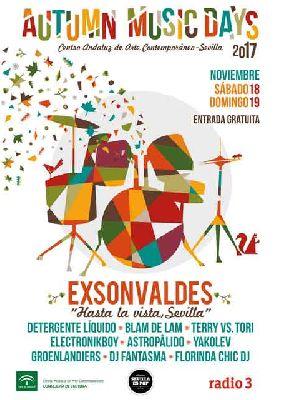 Conciertos: Autumn Music Day 2017 en el CAAC Sevilla