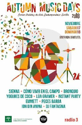 Conciertos: Autumn Music Day 2018 en el CAAC Sevilla