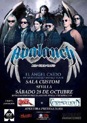 Concierto: Avalanch en Custom Sevilla 2017