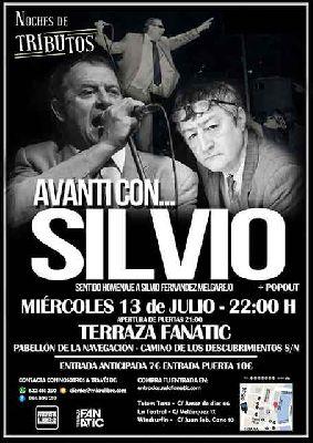 Concierto: Avanti con Silvio en la Terraza Fanatic de Sevilla (julio 2016)