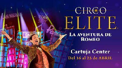 Cartel de La Aventura de Romeo en el Cartuja Center de Sevilla 2021