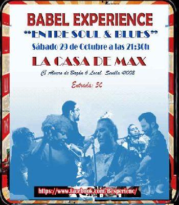 Concierto: Babel Experience en la Casa de Max Sevilla