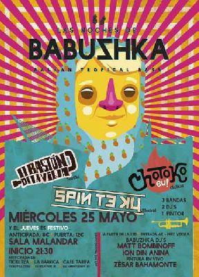 Conciertos de Las noches de Babvshka en Malandar Sevilla