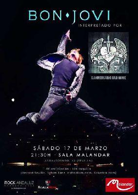 Concierto: Bad Name en Malandar Sevilla (marzo 2018)