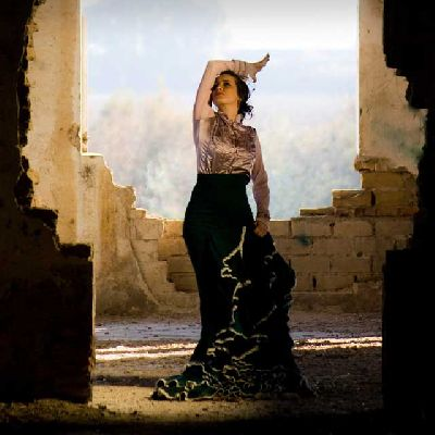 Flamenco: Bailaora en el Teatro Lope de Vega Sevilla