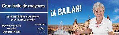 Concierto: Gran baile de mayores en la Plaza de España Sevilla