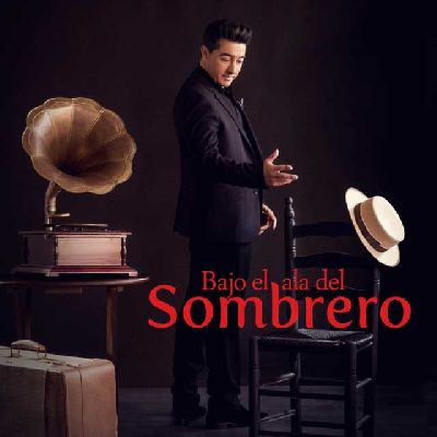 Cartel del espectáculo Bajo el ala del sombrero de Juan Valderrama