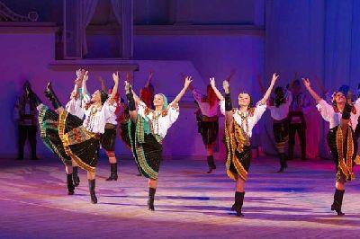 Fotografía promocional del Ballet de Igor Moiseyev