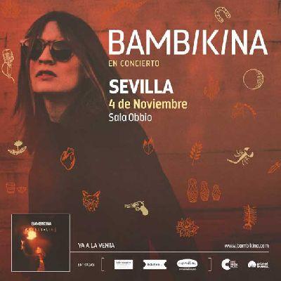 Concierto: Bambikina en la sala Obbio de Sevilla