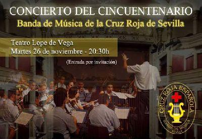 Concierto: 50 años de la Banda de Música de la Cruz Roja