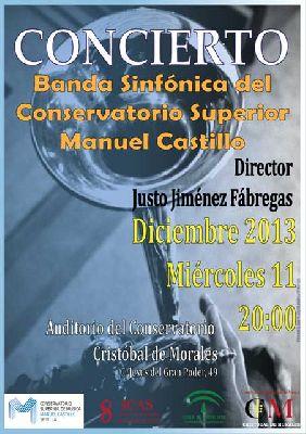 Concierto: Banda Sinfónica del CSM Manuel Castillo en Sevilla
