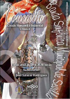 Concierto: marchas procesionales en el Círculo Mercantil Sevilla