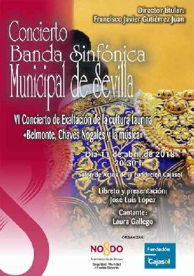 Concierto: Belmonte, Chaves Nogales y la música en Cajasol Sevilla 2018