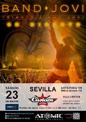 Concierto: Band Jovi (tributo a Bon Jovi) en Custom Sevilla 2017