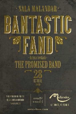 Concierto: Bantastic Fand y The Promised Band en Malandar Sevilla 2018