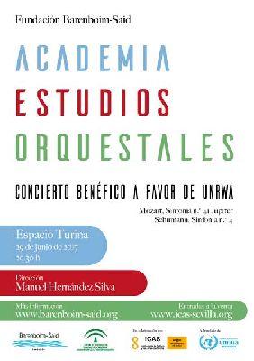 Concierto: Academia de Estudios Orquestales en el Espacio Turina de Sevilla