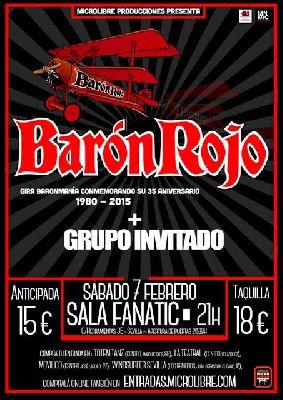Concierto: Barón Rojo en Fanatic Sevilla