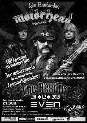 Concierto: Los Bastardos (tributo a Motorhead) en la Sala Even Sevilla 2018