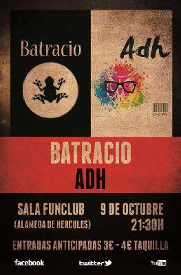Concierto: Batracio y ADH en FunClub Sevilla