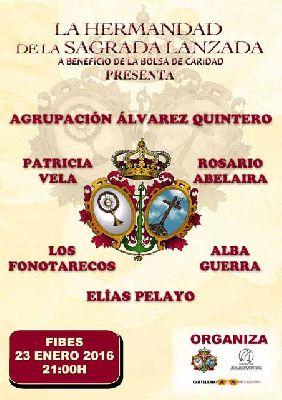 Espectáculo benéfico de la Hermandad de la Lanzada en Fibes Sevilla 2016
