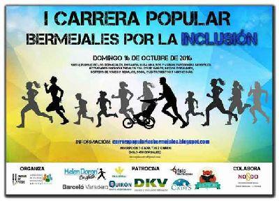 I Carrera Bermejales por la inclusión en Sevilla 2016
