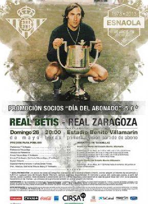Real Betis - Zaragoza Liga 2012-13 jornada 37
