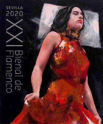 Cartel de la Bienal de Sevilla 2020