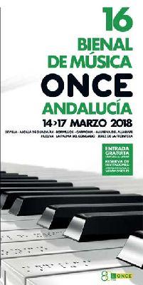 Conciertos de la XVI Bienal de Música ONCE Andalucía en Sevilla 2018