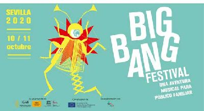 Cartel del Big Band Festival 2020 en Sevilla