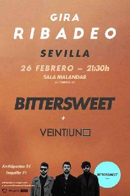 Concierto: Bittersweet en Malandar Sevilla (febrero 2016)