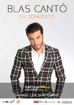 Concierto: Blas Cantó en el Cartuja Center de Sevilla 2018